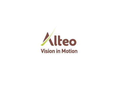 Alteo Vision in Motion logo